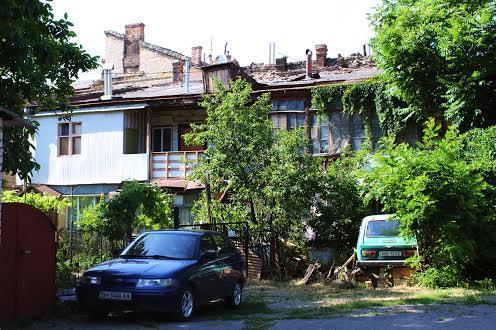 Дворик на Молдованке в Одессе