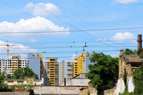 Дома на Молдованке в Одессе
