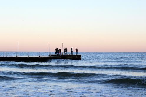 Аркадия море