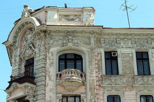 Архитектура центрального микрорайона Одессы