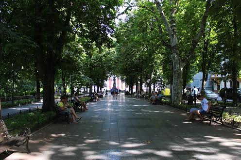 Приморский бульвар Одесса