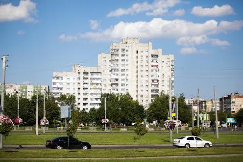 Вид на микрорайон  Сыхов