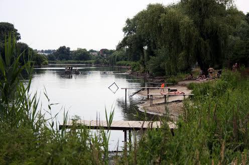 На озері Софіївська Борщагівка