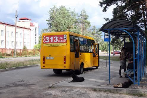 Громадський транспорт в Броварах