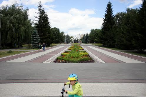 Парк із радянською військовою технікою в Броварах