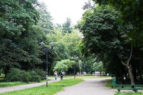Парк Левандовка Львов