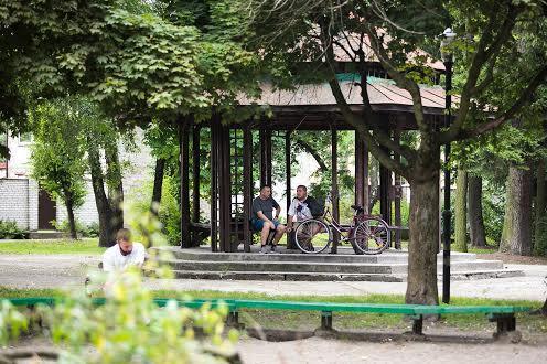 Парк Левандовка во Львове