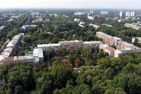 ХТЗ з висоти Харків
