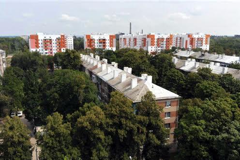 Район ХТЗ в Харьков