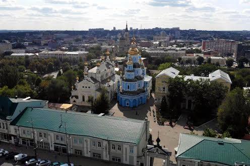 Успенський собору в Центрі Харків