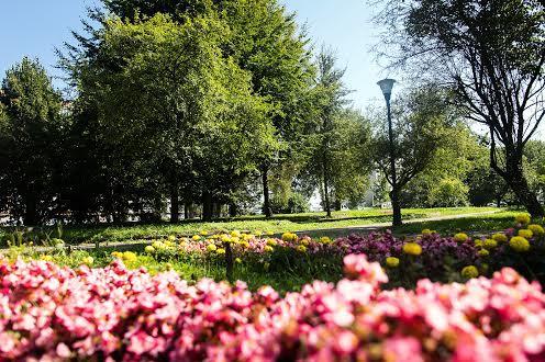 Парк на Научной во Львове