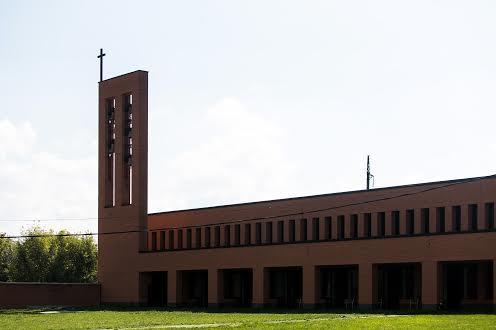 Церковь святого Луиджи Орионе отцов орионистив УГКЦ Замарстынов