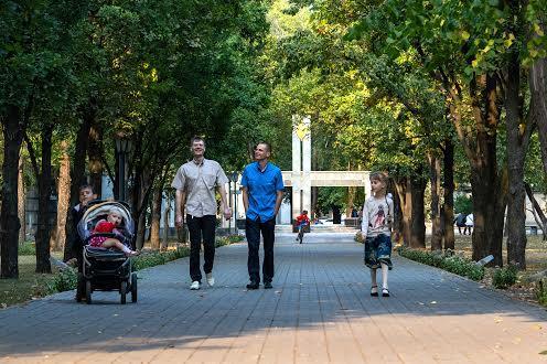 Парк Шевченко микрорайон Нагорный