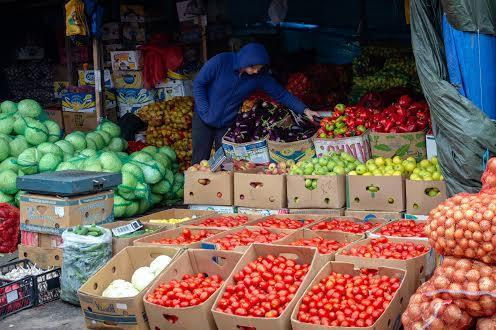 Рынок на Левобережном в Днепре