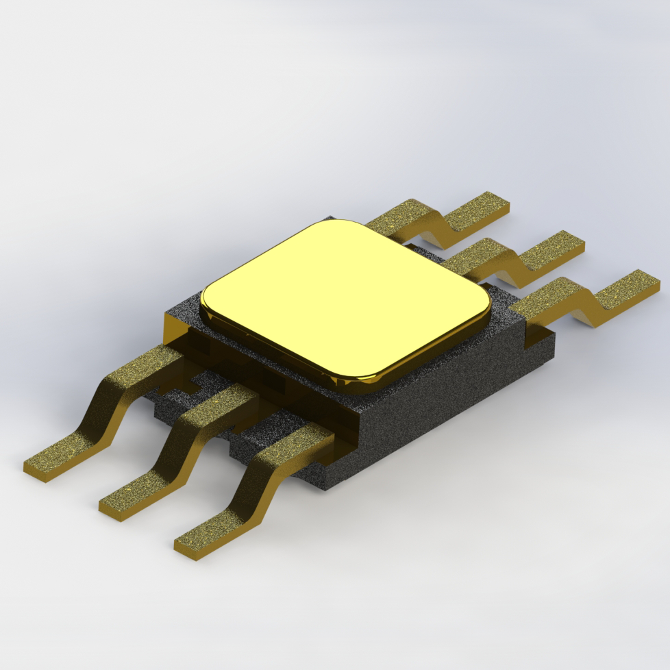 Proton Radiation Tolerant Optocoupler (Single Channel, Electrically Similar to 4N49)
