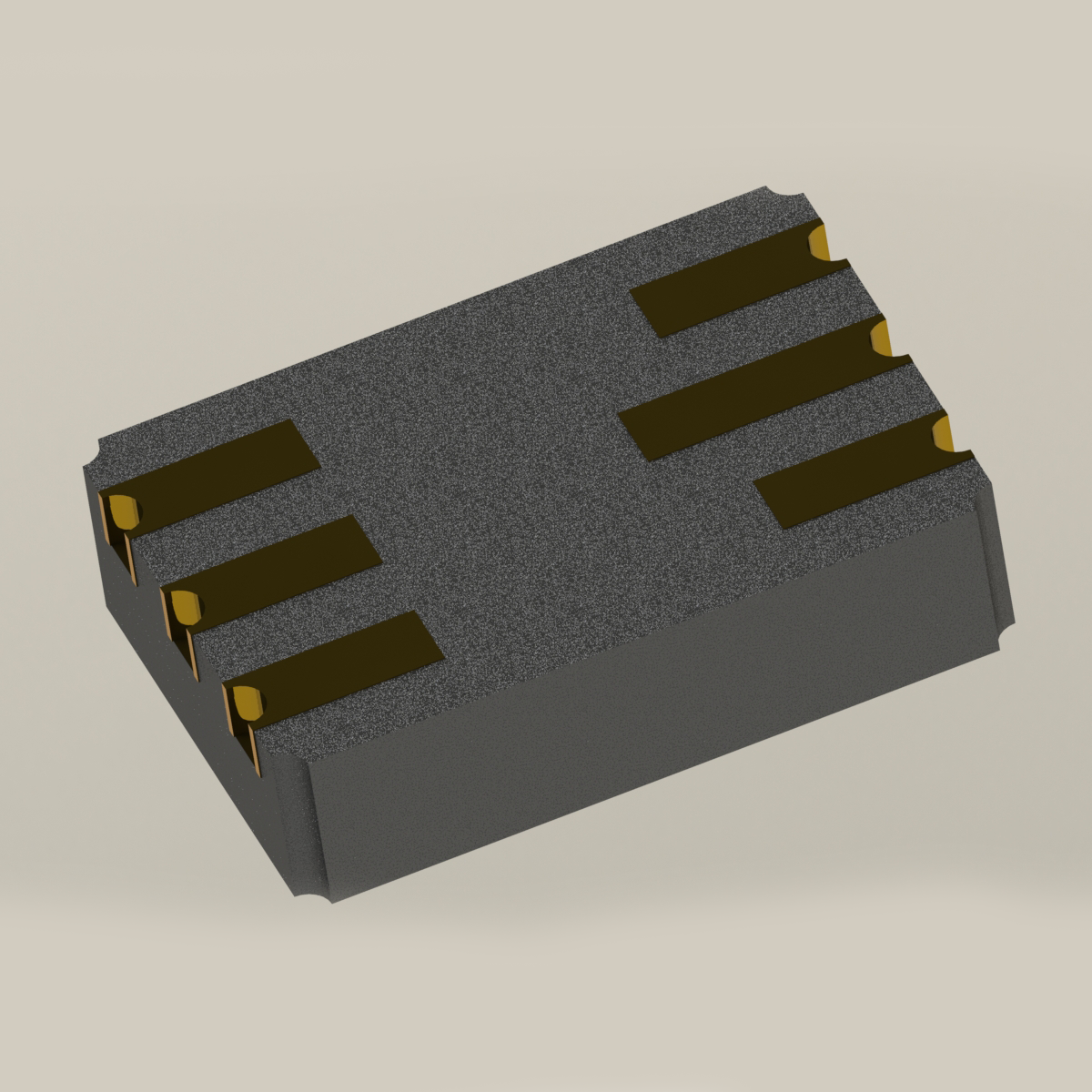 6 Pin LCC JAN4N48U Optocoupler