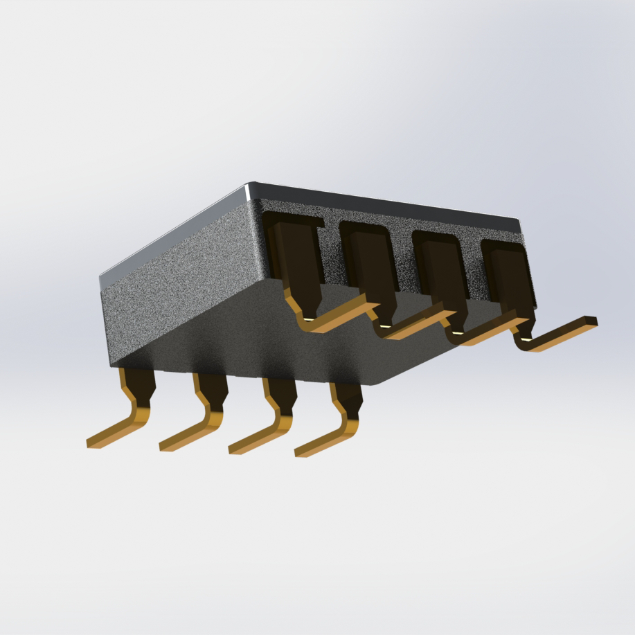 Radiation Tolerant, 90V - 0.8A Dual Power MOSFET Optocoupler