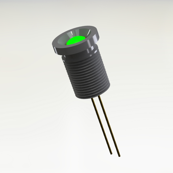 Bi-Color Hermetic LED Indicator