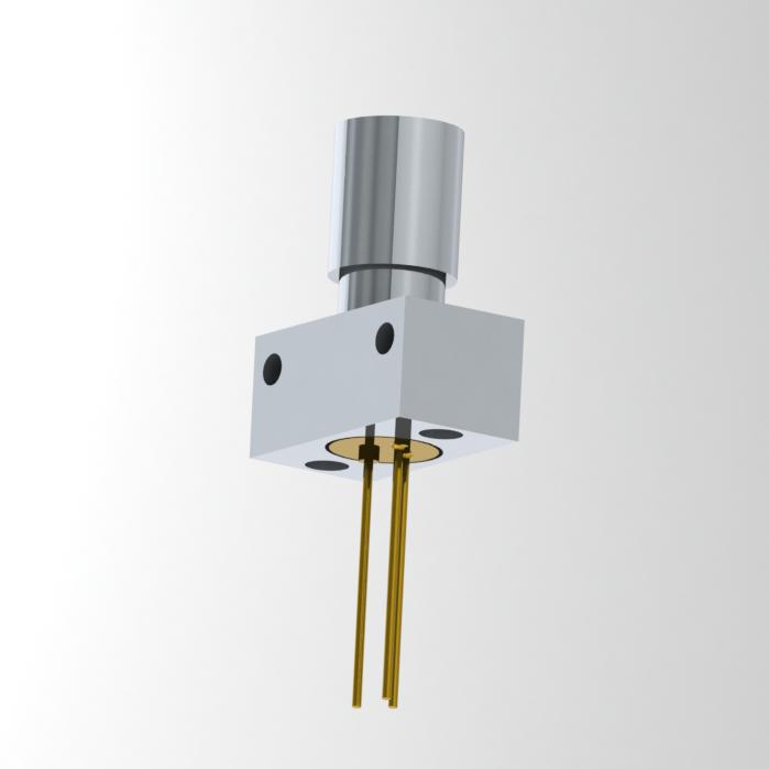 Fiberoptic Emitter in SMA Connector