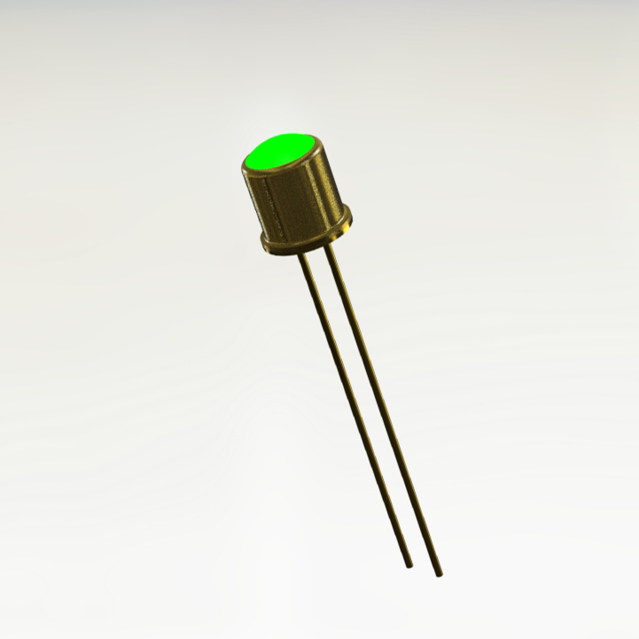 JANTX1N6094 Green Hermetic LED Indicator