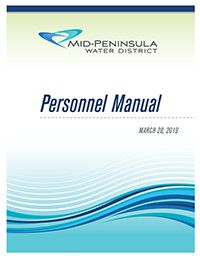 Cover of the MPWD Personnel Manual