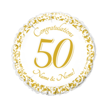 50th Anniversary Gold