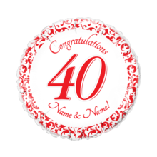 40th Anniversary Red
