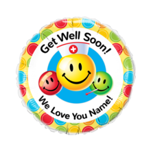 Get Well Smile Face