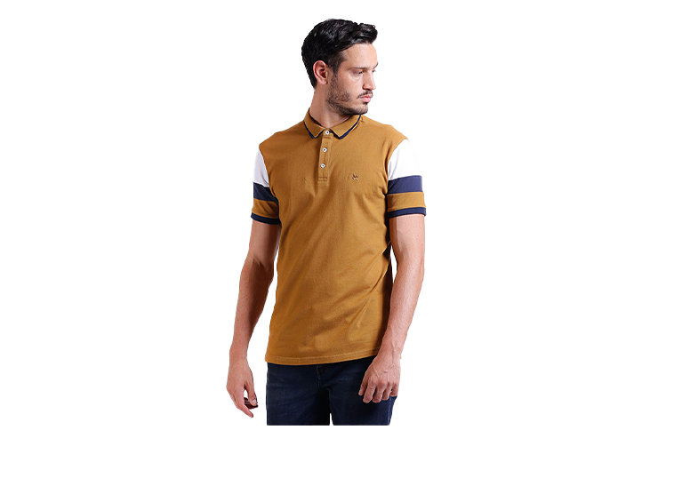 Camiseta Polo Sleeved Cuts