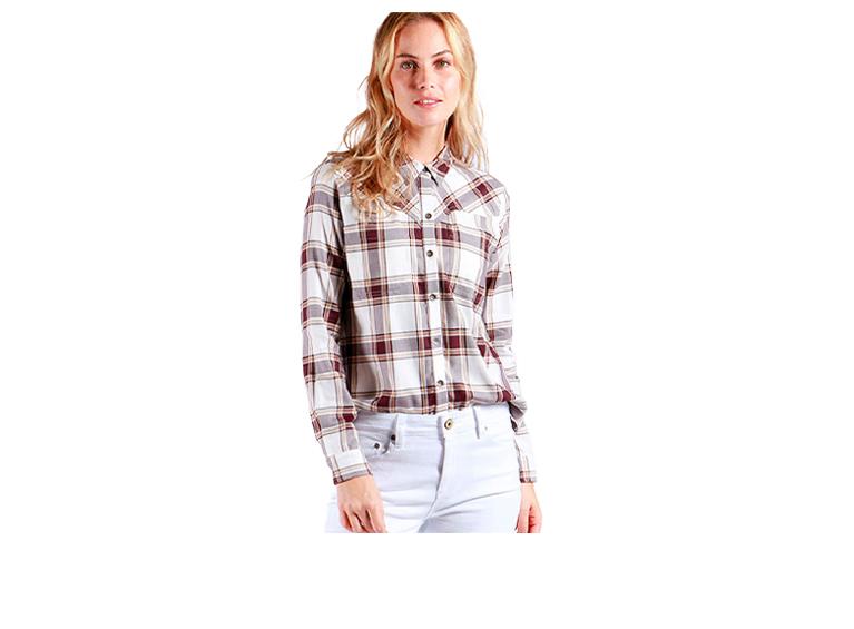 Camisa Plaid M/L