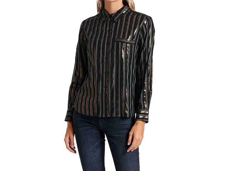 Camisa Lurex strip