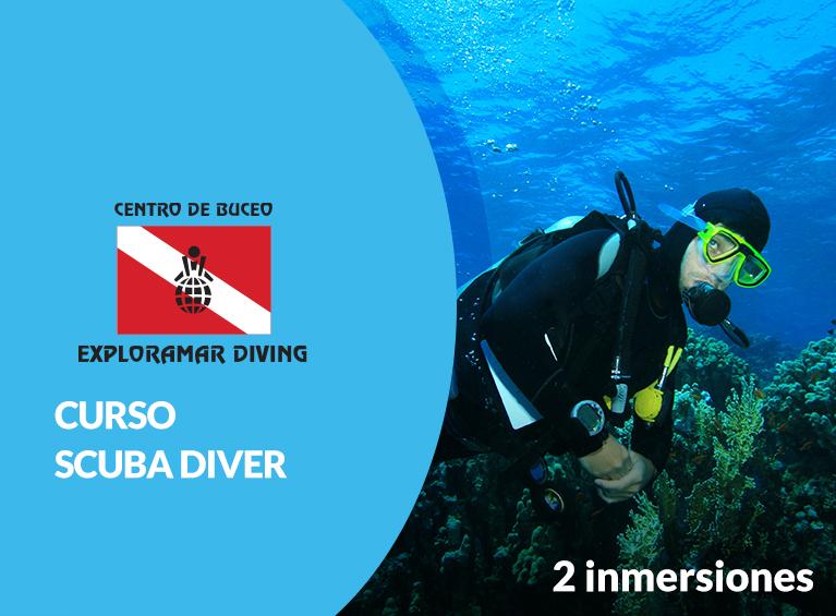 Curso de buceo Scuba Diver