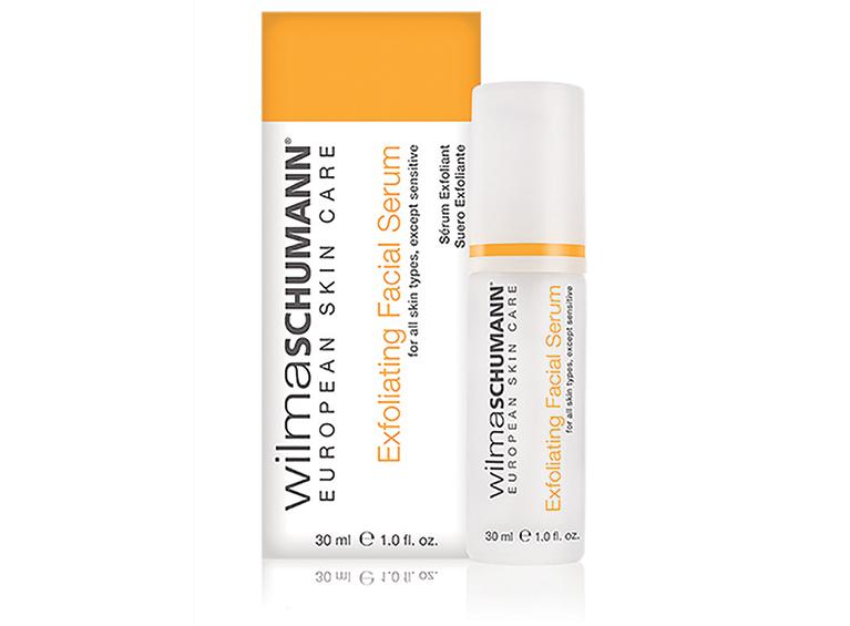 Exfoliating facial serum