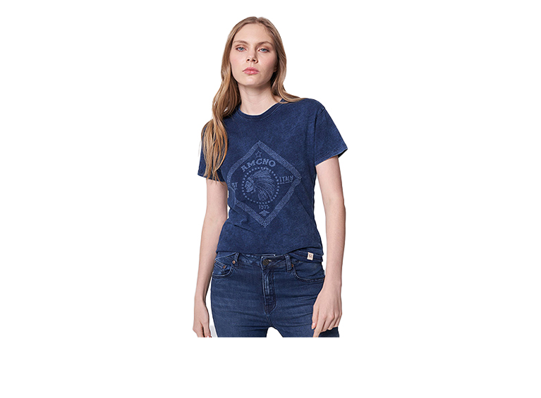 Camiseta Demin Láser Americanino