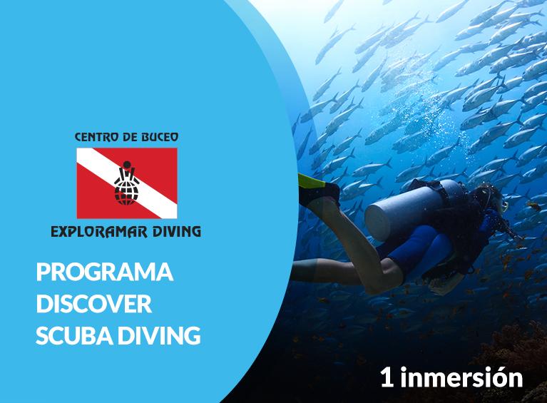 Programa de buceo Discover Scuba Diving