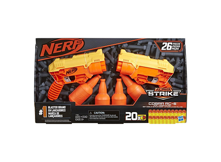 Pistola Nerf Alpha Cobra