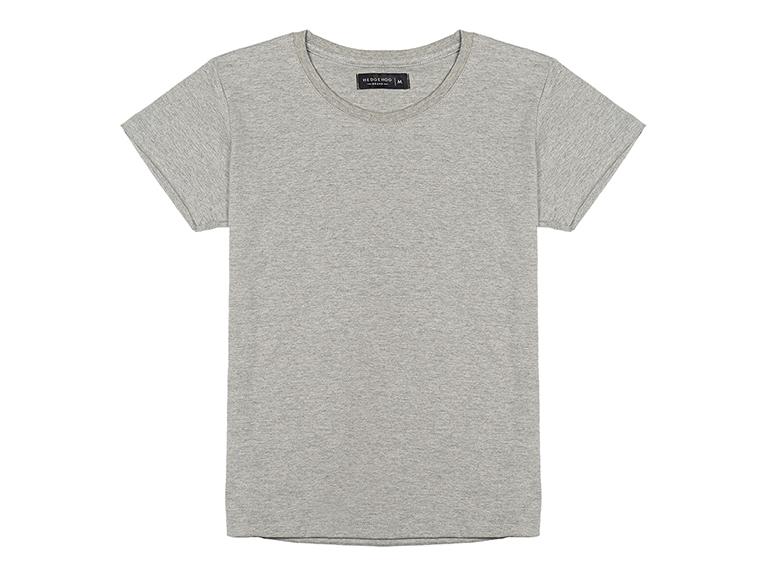 Camiseta cuello redondo para mujer