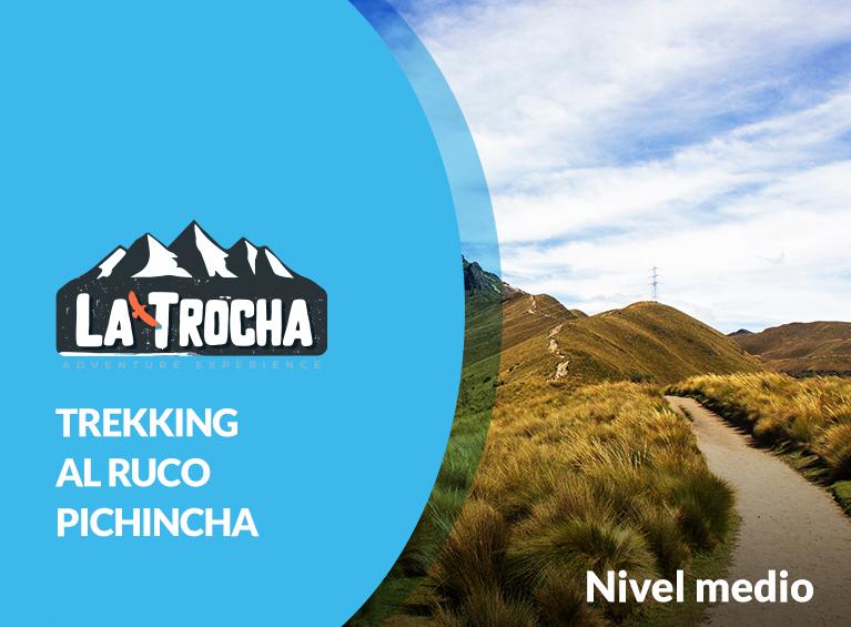 Trocha hacia el Ruco Pichincha