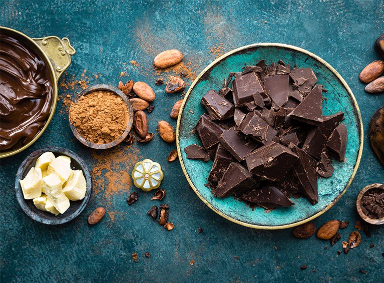 Naturaleza y chocolate Pareja
