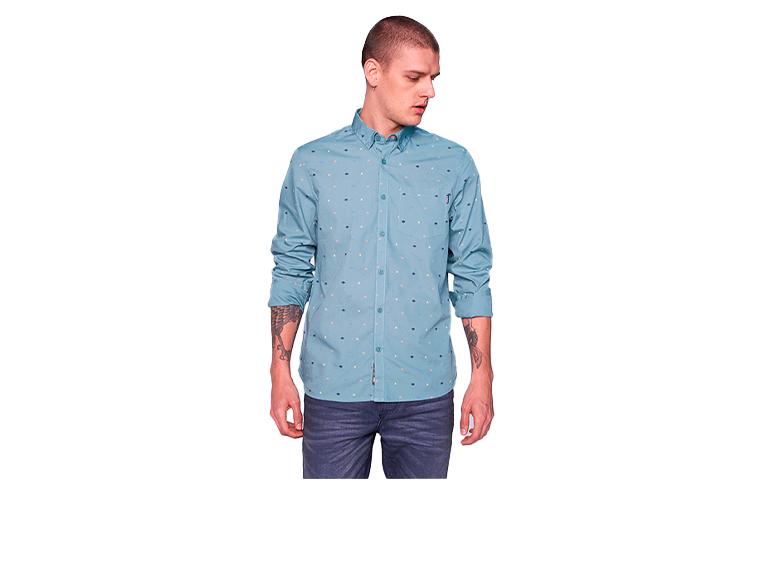 Camisa para hombre slim AM D