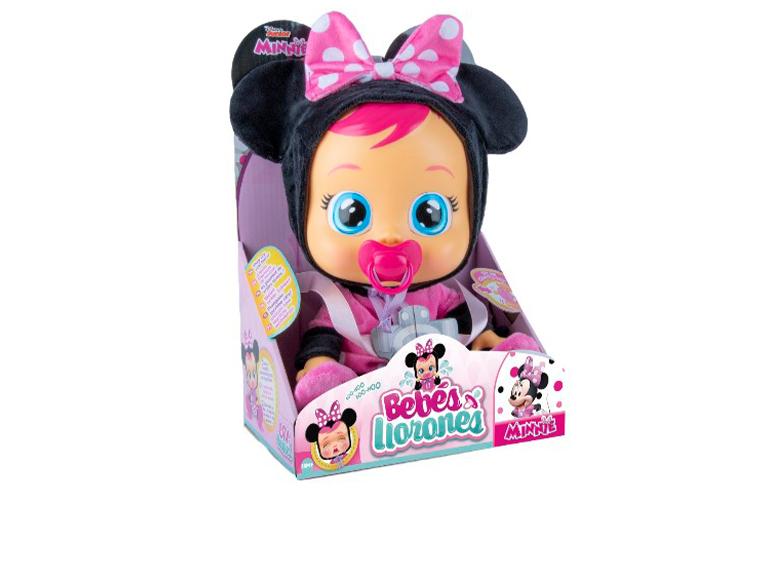 Muñeca Cry Babies Minnie Mouse