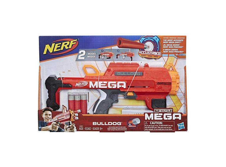 Lanzador Nerf Mega Bulldog