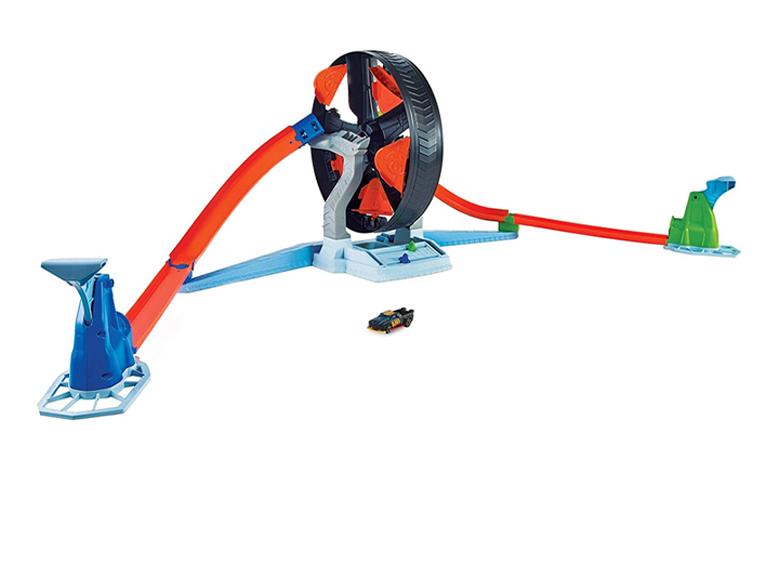 Pista Hot Wheels Spinwheel Challenge