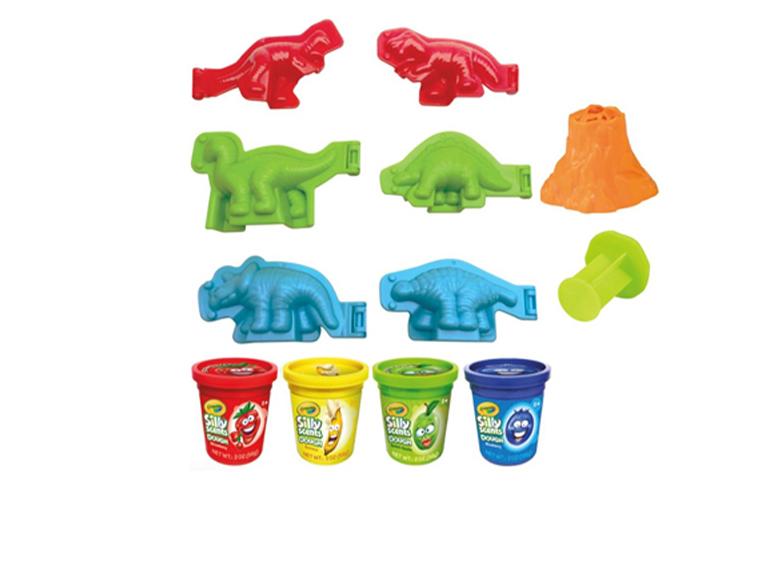 Set De Plastilina Silly Scents Dinosaurios