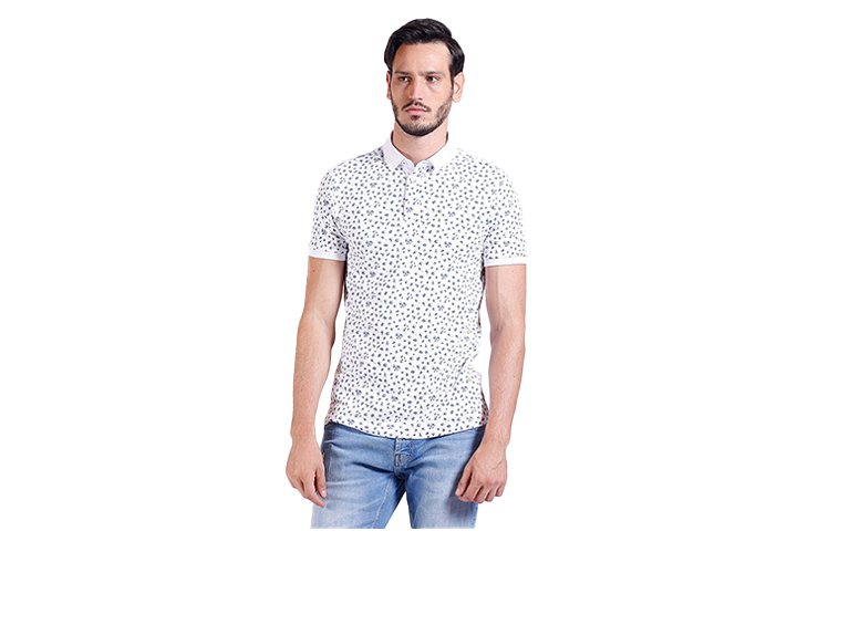 Camiseta Polo Miniflowers