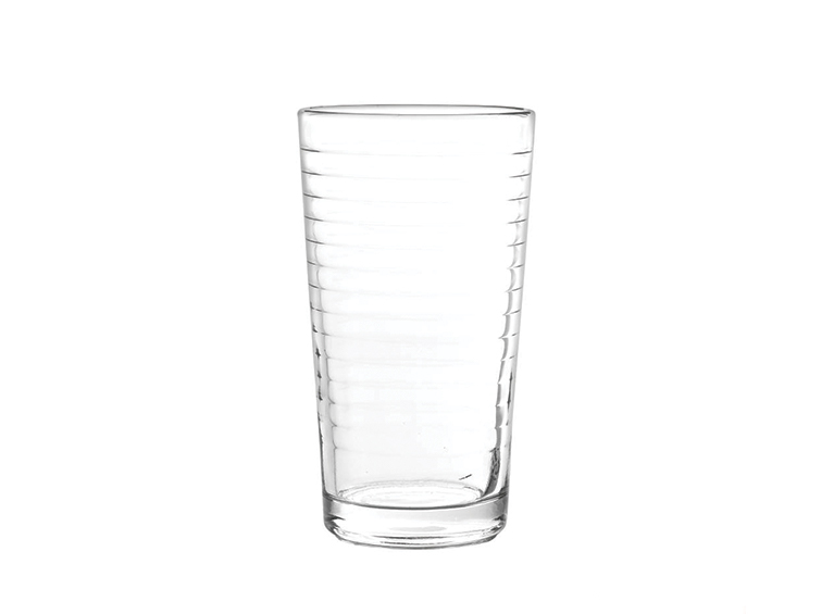 Set de vasos lisos ópticos