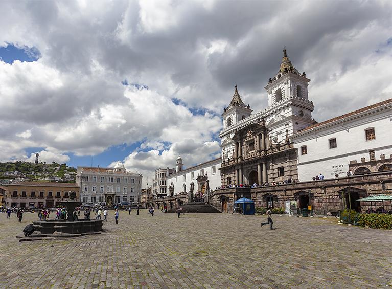 Tour Quito eterno Pareja