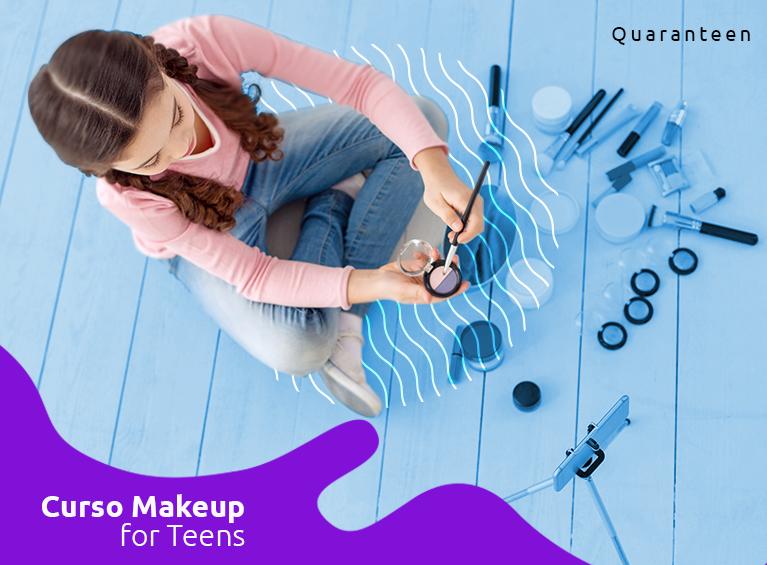 Curso de makeup for teens