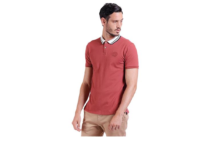 Camiseta Polo Neck Details
