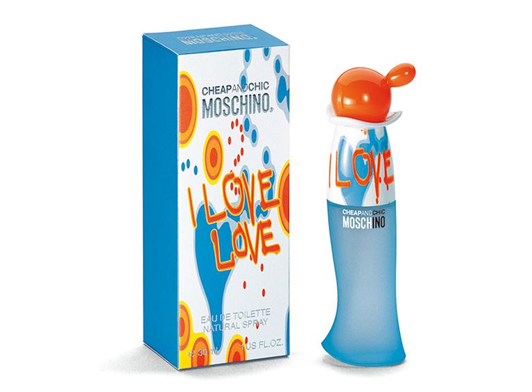 Cheap & Chic I Love Love de Moschino